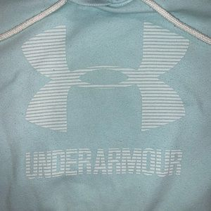 Under Armour Tops - Baby blue Under Armour sweatshirt